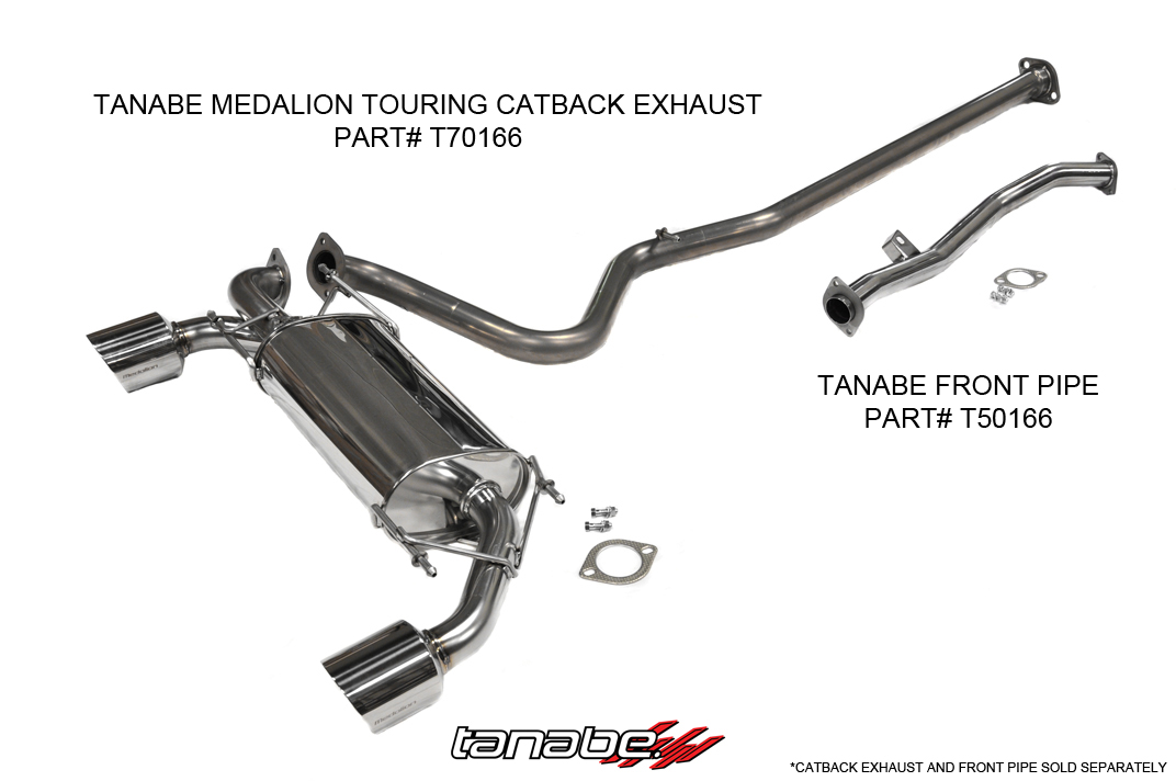 Tanabe Medallian Touring Cat Back Exhaust
