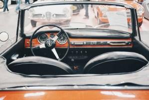 Vintage opentop car