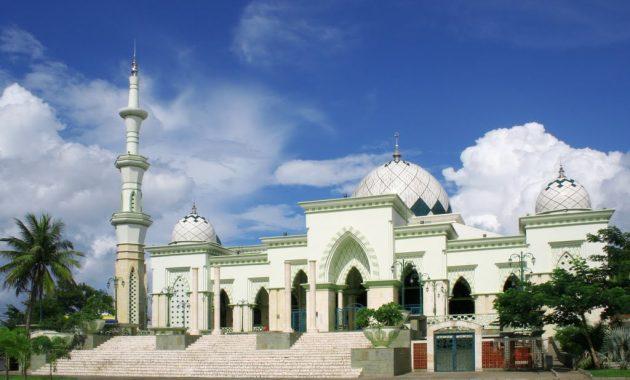 Gambar Masjid Hijau
