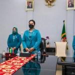 Kahiyang Ayu Ikuti Pelantikan TP PKK Pusat Secara Virtual