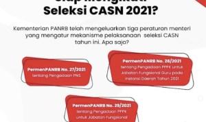 Berikut Pedoman Pengadaan CASN Tahun 2021