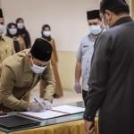 Wali Kota Kukuhkan Jabatan Pimpinan Tinggi Pratama Padangsidimpuan