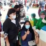 Bupati Karo Tinjau Vaksinasi Massal