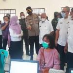 Bupati Asahan Tinjau Pelaksanaan Vaksinasi di Kecamatan Aek Songsongan