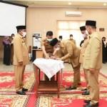 Bupati Sergai Lantik 6 Jabatan Pratama dan 12 Pejabat Administrator