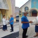 FWP Salurkan Paket Bansos ke Rumah Ibadah