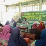 Satgas TMMD Kodim 0212/Tapsel Gelar Penyuluhan PKK Guna Keluarga Hidup Bersih