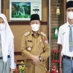 Plt Wali Kota Terima Dua Siswa Berprestasi Wakili Tanjungbalai Anggota Paskibra Sumut
