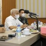 Gubsu Pimpin Rapat Tindak Lanjut Pencegahan dan Penanganan Covid-19