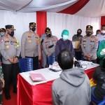Kakorlantas Polri Tinjau Pos Penyekatan PPKM Level 4 Kota Medan