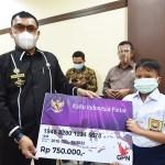 Pemko Padangsidimpuan Bagikan KIP Ke Siswa SD dan SMP