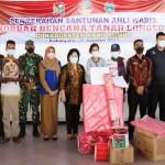Pemerintah Salurkan Bantuan Longsor di Lau Bawang Kabanjahe