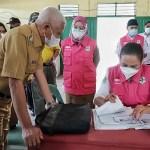 Bupati Asahan Tinjau Pelaksanaan Vaksinasi di PTPN IV Kebun Pulo Raja