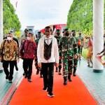 Presiden Jokowi Kunker ke Papua