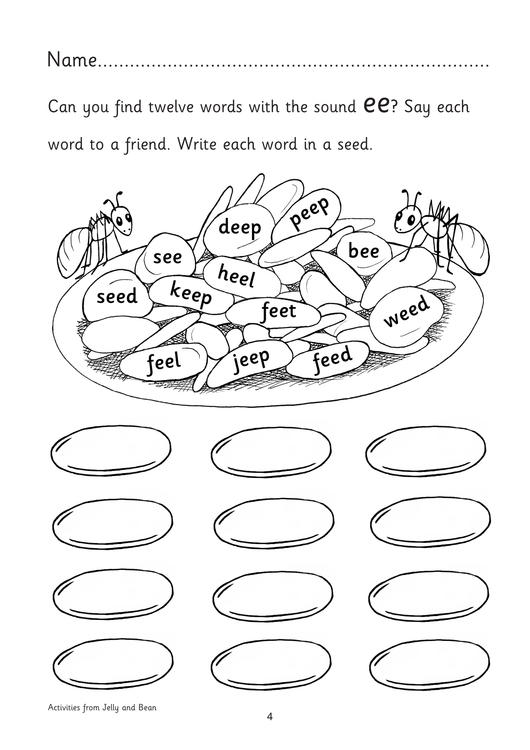WA9: Writing Activities for the Early Vowel Series