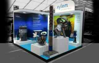 Exhibition stand Xylem Off Shore Europe