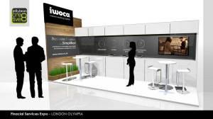 IWOCA Finance Professional Exhibition Stand Design