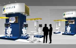 Conceptual exhibition design scheme
