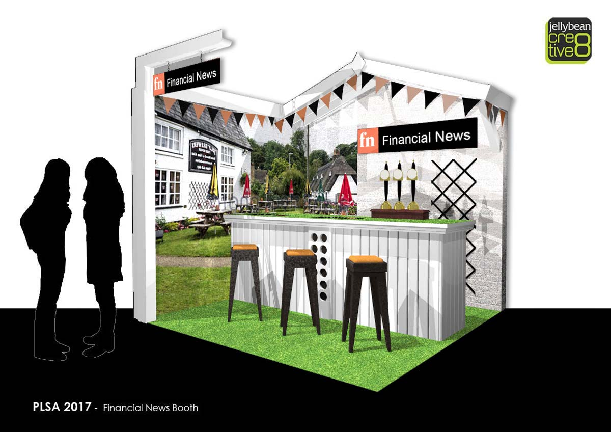 PLSA Conference Garden Pub Themed Exhibition stand
