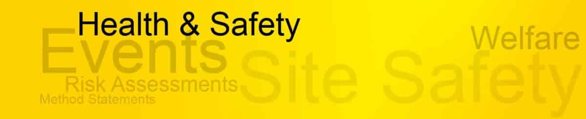 Health & Safety documents event organiser from exhibition contractor