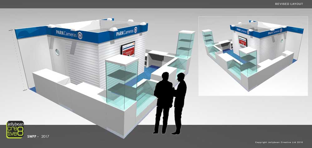 Exhibition design Park Camers SWPP Tradeshow London