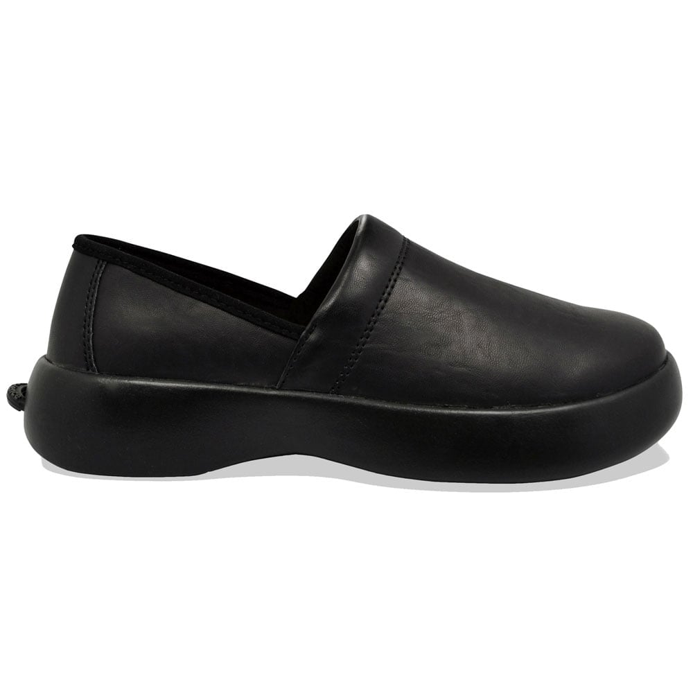 All Black Non Slip Work Shoes
