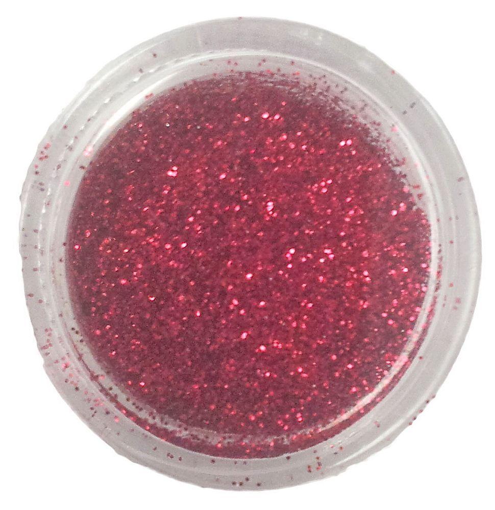 Amazing Shine Glitter Dark Red