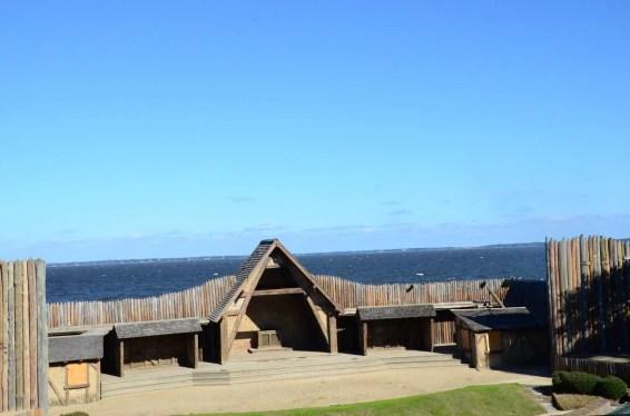 Fort Raleigh à Roanoke Island USA