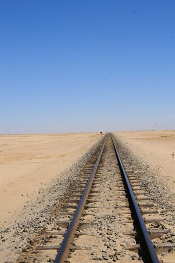 Chemin de fer à Swakopmund