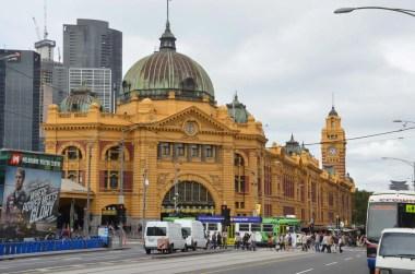 Gare de Melbourne Australie