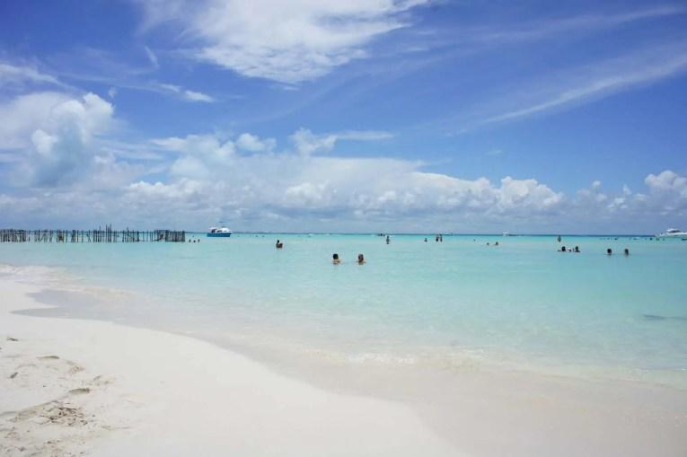 Plage de la Isla Mujeres, Mexique