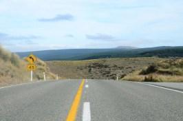 Route vers Queenstown Nouvelle Zélande