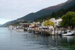 Port de Queenstown Nouvelle Zélande
