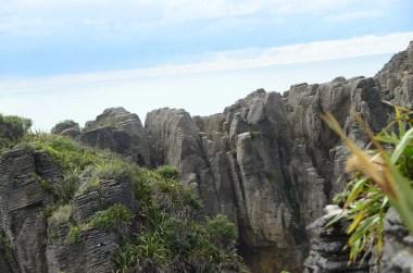 Pancake rocks Punakaiki Nouvelle Zélande