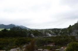 Géothermie à Taupo Nouvelle Zélande