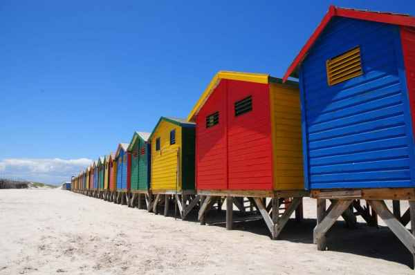 Cabanes de plage Le Cap