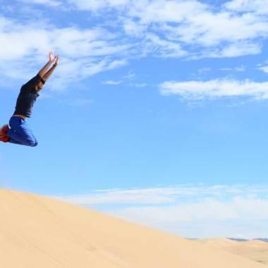Fun dans les dunes