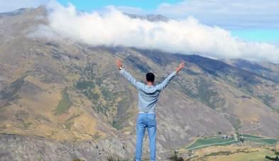 Vue majestueuse sur la vallée