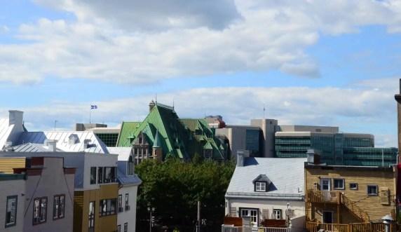 Vue sur les toits de Québec