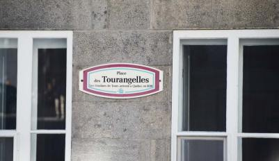 Rue à Québec