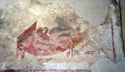 Lupanare de Pompei, Italie