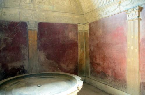 Thermes de Pompéi, Italie