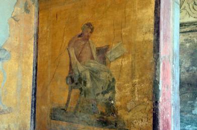 Fresque, Pompei, Italie