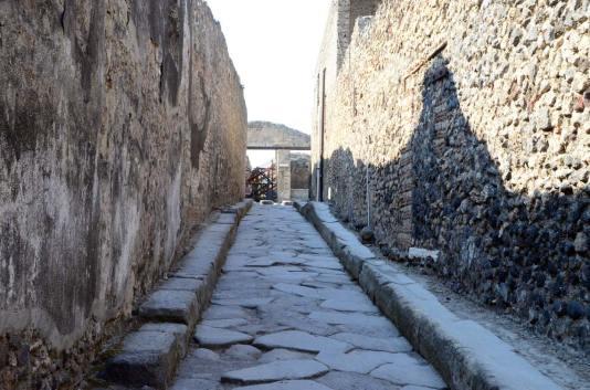 Rue de Pompei, Italie