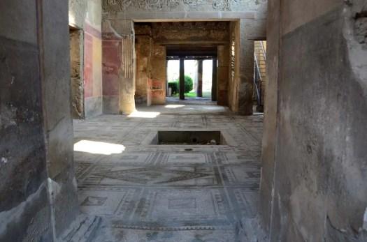 Atrium d'une villa, Pompei, Italie