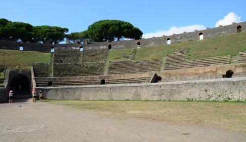 Amphithéâtre de Pompéi, Italie