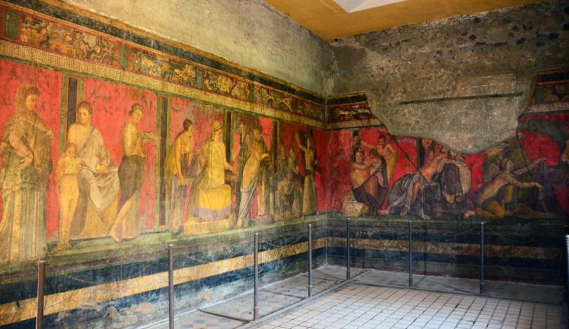 Villa des mystères, Pompei