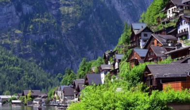Maisons de Hallstatt
