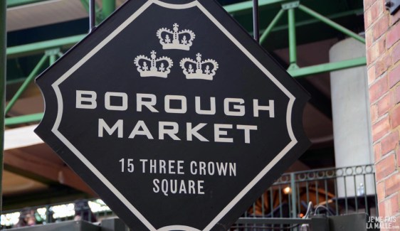 Bienvenue au Borough Market de Londres