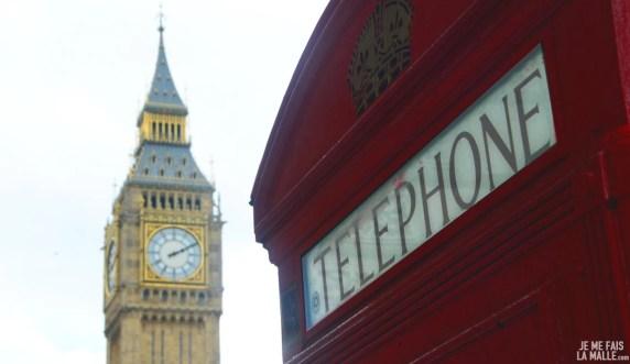 Big Ben et cabine téléphonique rouge